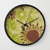 hawaii Wall Clocks featuring Hawaii  by Aubree Eisenwinter