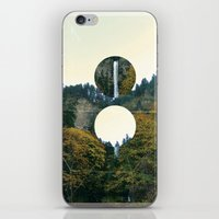 portlandia iPhone & iPod Skins featuring Waterfall Sky by Olga Perelman