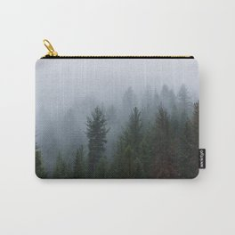 A Forest Lost in the Fog Carry-All Pouch