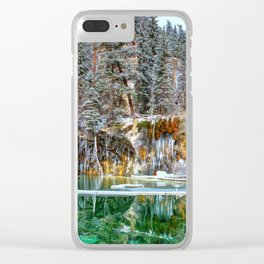 A Serene Chill Clear iPhone Case