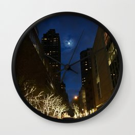 Lincoln Center Christmas Wall Clock