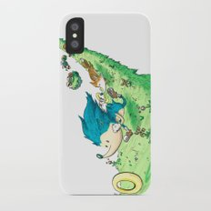 Starring Sonic and Miles 'Tails' Prower (Alt.) Slim Case iPhone X