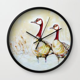 Seasoned Travelers Wall Clock
