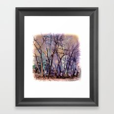 Trees are Poems That the Earth Writes Upon the Sky Framed Art Print