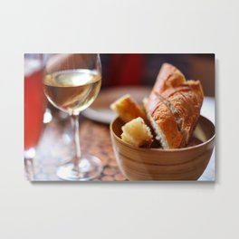 Chilled Wine Metal Print