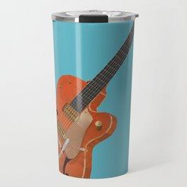Gretsch Chet Atkins Guitar polygon art Travel Mug