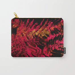 tiger skin texture in hot pink Carry-All Pouch