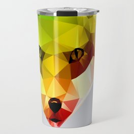 Glass Animal - FOX head Travel Mug