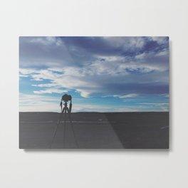 Colorado Silhouette Metal Print