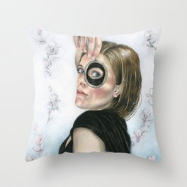 Lover's Eye Throw Pillow