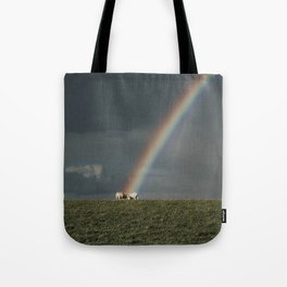 Rainbow II  - Landscape and Nature Photography Tote Bag