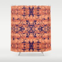 jungle Shower Curtains featuring Jungle by Nahal