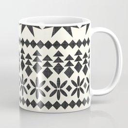 North in Black and White Coffee Mug