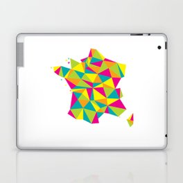 Abstract France Bright Earth Laptop & iPad Skin