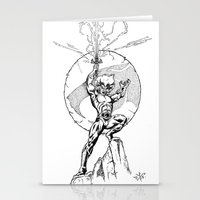 thundercats Stationery Cards featuring Lion-O Thundercats by GPap