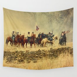 Under Attack Wall Tapestry
