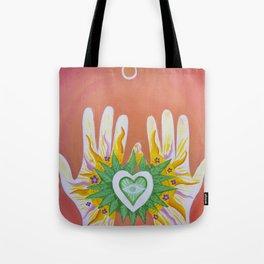 Hands Of Love Tote Bag