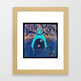 Bath Framed Art Print