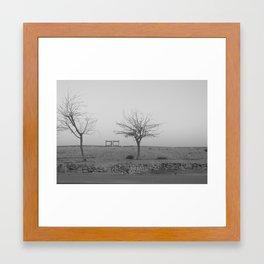 pairs Framed Art Print