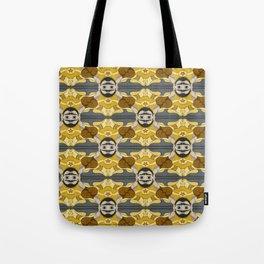 Unibrow Boxer Tessellation Tote Bag