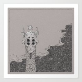 Things that are Scary (a Partial Compendium) Art Print