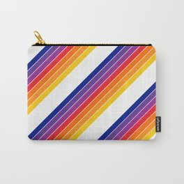 Rainbow Candy Stripe Carry-All Pouch