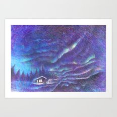 Out of the Night Art Print