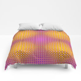 Vasarely style Comforters