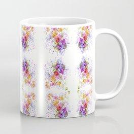 Sweet Flowers Watercolour Coffee Mug