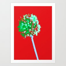 Explosive Beauty  Art Print