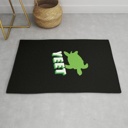 Yeet Funny Turtle Gifts Turtle Lovers Gifts Turtle Items Rug