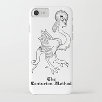 fitness iPhone & iPod Cases featuring Luciferian Fitness Militia by The Centurion Method