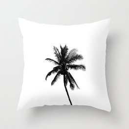 Palm Tree Squared Throw Pillow