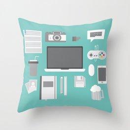 Designer tools Throw Pillow