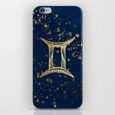Gemini Zodiac Sign iPhone & iPod Skin