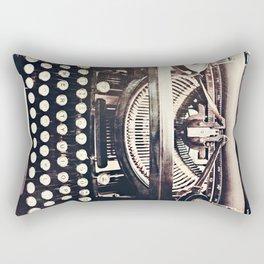 aging gracefully Rectangular Pillow