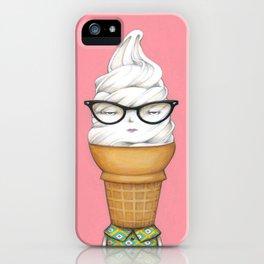 Vanilla Cone iPhone Case