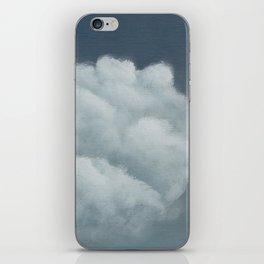Ceci n'est pas un nuage iPhone Skin