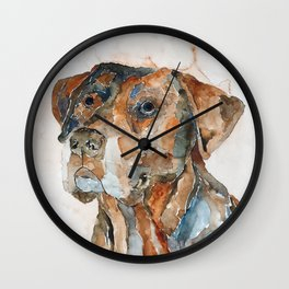 DOG#12 Wall Clock