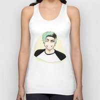 nausicaa Tank Tops featuring Insane by Nausicaa