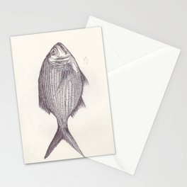 BALLPEN FISH 4 Stationery Cards