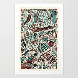 ChiliPot Pattern 3 Art Print