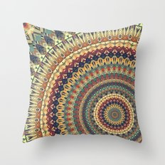 MANDALA DCXVI Throw Pillow
