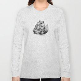 Fat Hamster Long Sleeve T-shirt
