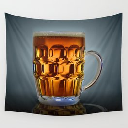 In Search Of The Holy Ale. Wall Tapestry