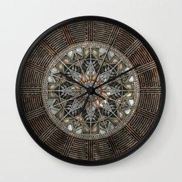 Sun Pendant Wall Clock