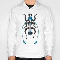 insect Hoodies featuring Inkblot Insect by Lil'h