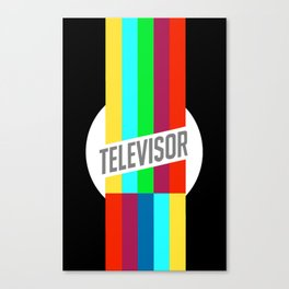 Televisor  Canvas Print