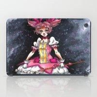 madoka magica iPad Cases featuring Madoka Magica by Refrigerator-Art