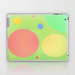Re-Created Twisters No. 1 by Robert S. Lee Laptop & iPad Skin
